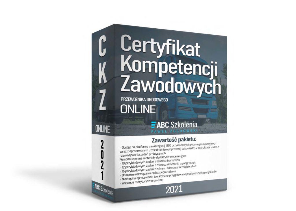 Wizualizacja kursu na certyfikat kompetencji zawodowych online